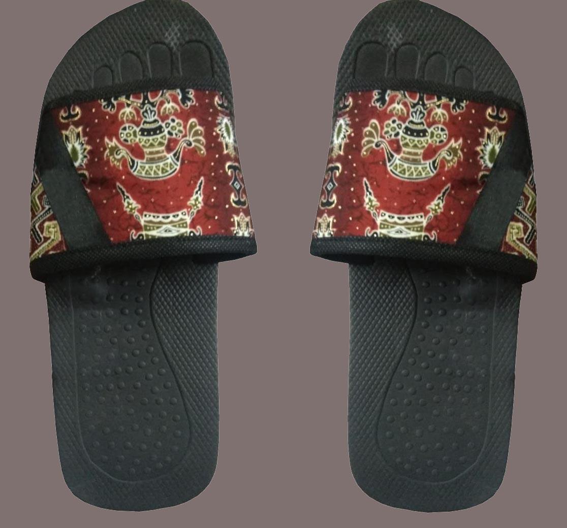 sandal batik